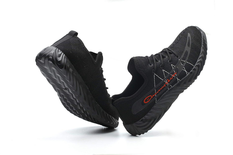 Ali-tone Homme Femme Poids l/éger Chaussure de S/écurit/é Chaussure de Travail Embout de Protection en Acier Semelle de Protection Baskets S3 Respirant Chaussures Chaussures de Randonn/ée
