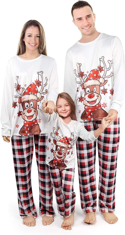 Pijamas de Navidad Familiar Graciosos Conjunto Mujer Hombre ...