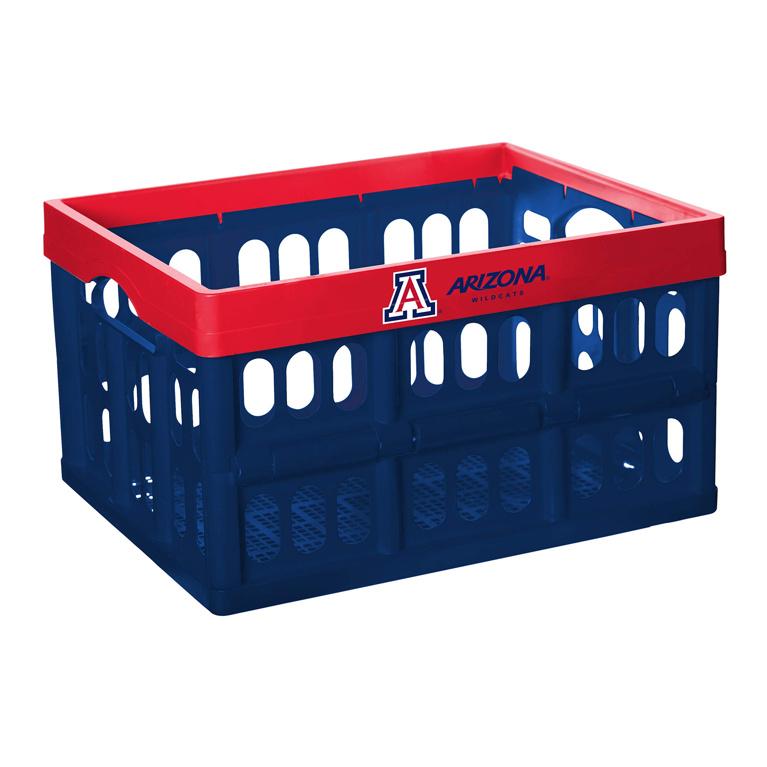 NCAA Fabrique Innovations Collapsible Crate, Arizona Wildcats