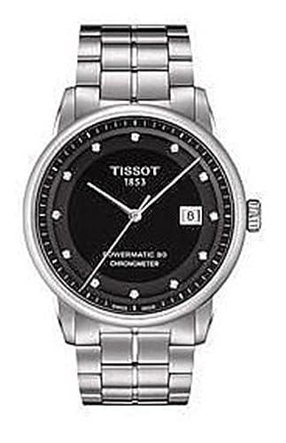 Tissot Reloj Analógico para Mujer de Automático con Correa en Acero Inoxidable T086.408.11.056.00: Amazon.es: Relojes