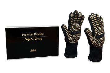 Premium Barbacoa Guantes/Guantes de horno/Back Guantes/Congelador Guantes – Diseño en