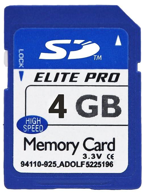 Fulllight Tech Tarjeta de memoria flash de 4 GB, clase 4 ...