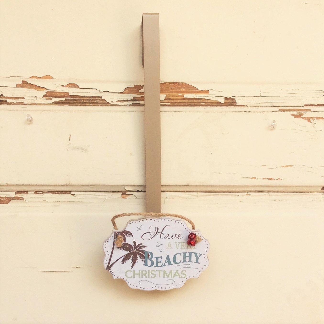 AG Designs Christmas Decor - Wreath Door Hanger - Beachy Christmas