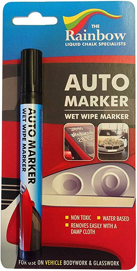 Tire Car Paint Marker Pens Auto Writer Windows All Surfaces Metal Glass