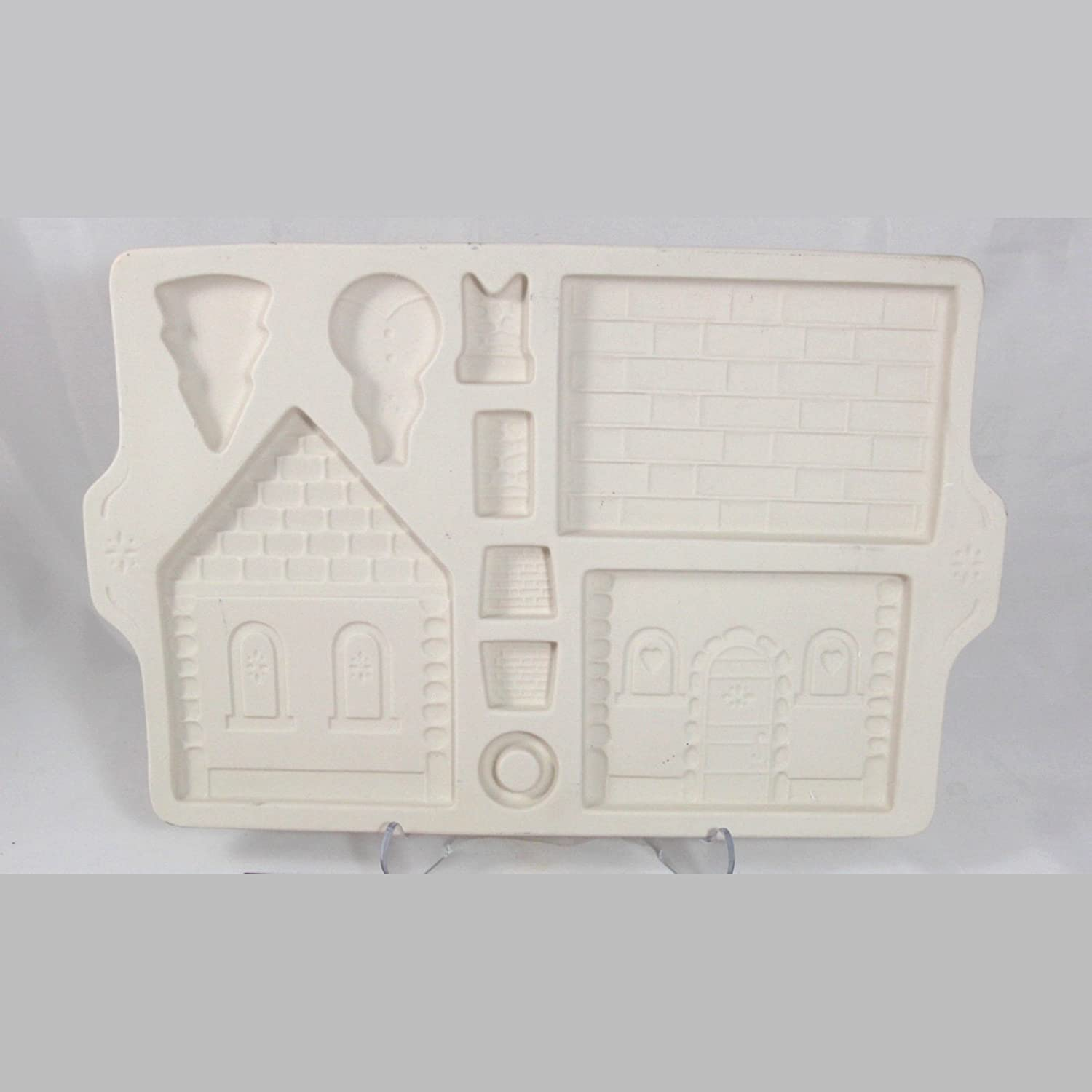 Amazon.com: Longaberger Pottery 1995 Gingerbread Country Cottage ...