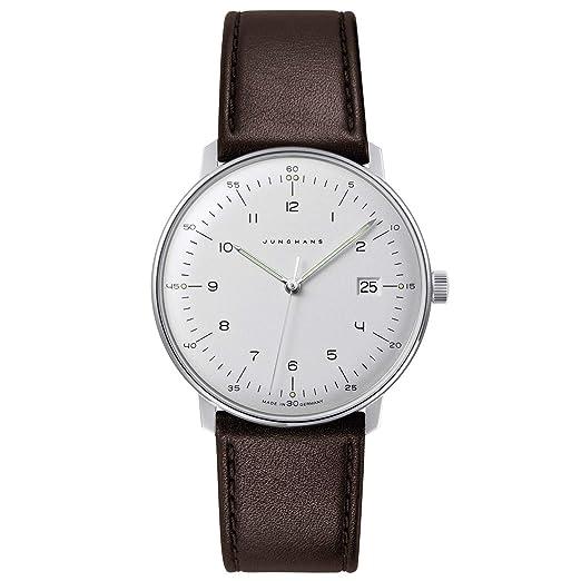 Amazon.com: Junghans Max Bill - Reloj de cuarzo para hombre ...