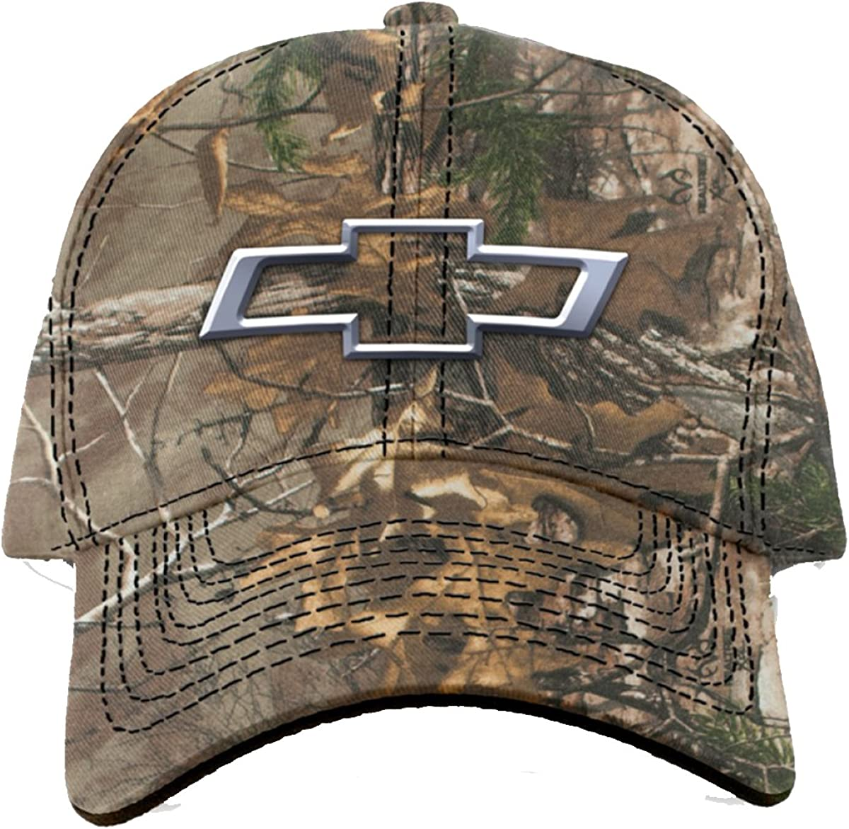 orange embroidered logo 100/% NEW Chevrolet Chevy Camo Baseball Hat Cap