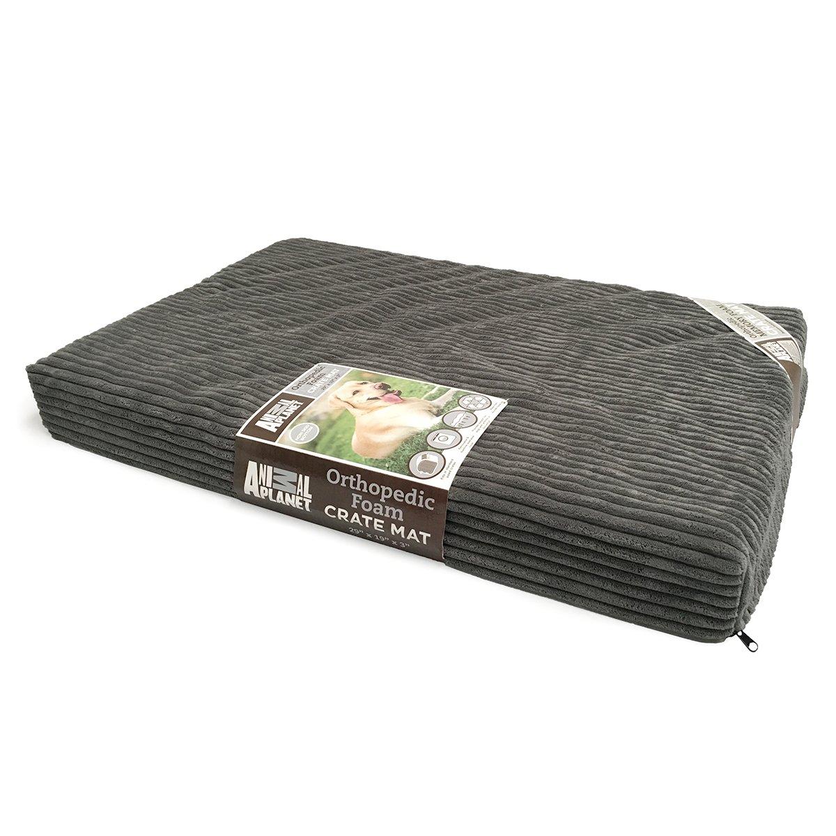 Animal Planet Orthopedic Pet Bed, 40''x26''x3'', Grey