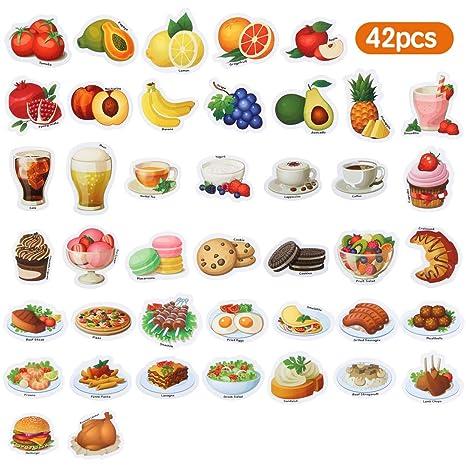 Baobë Comida y Fruta magnética,Imanes Nevera para niños, imanes ...