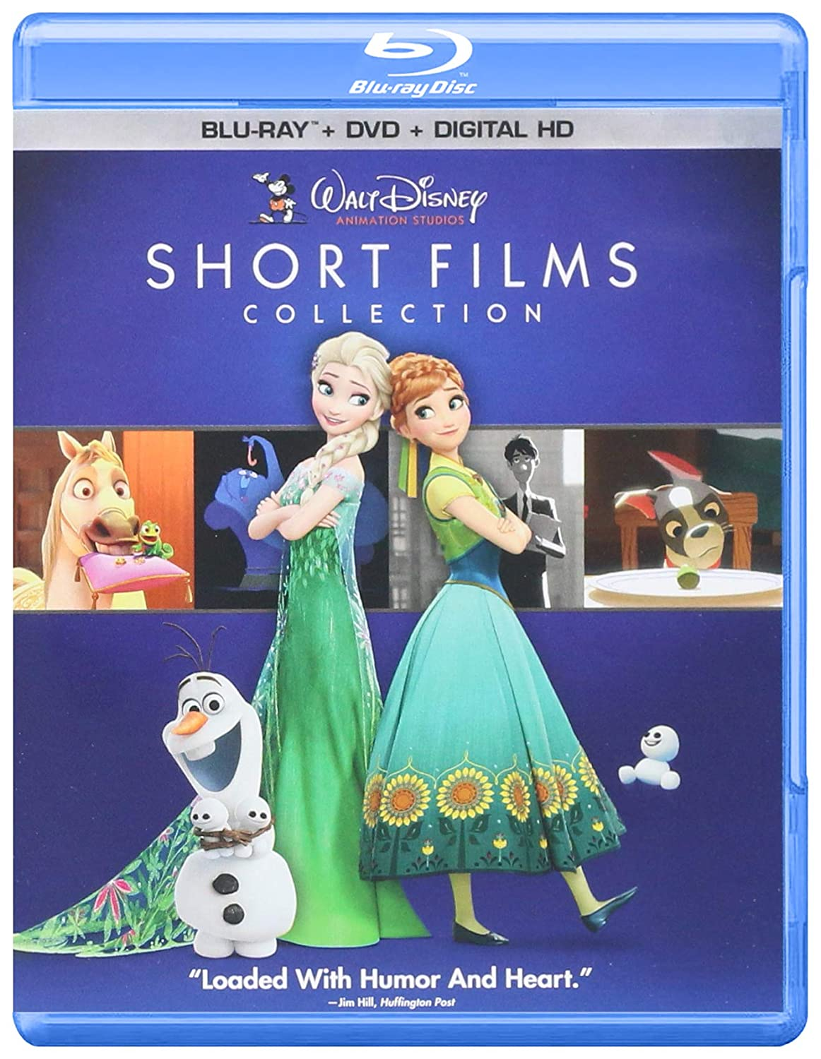 Walt Disney Animation Studios Short Films Coll 2 Blu-Ray Edizione ...
