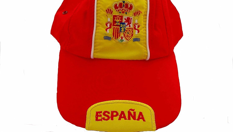 Gorra España selección con envío rápido desde España. (gorras hombre mujer adulto, disfruta del dia de la hispanidad,de los triunfos de la selección española, de las fuerzas armadas, dia de la guardia
