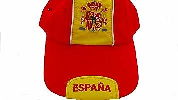 Gorra España selección con envío rápido desde España. (gorras hombre mujer adulto, disfruta del dia de ...