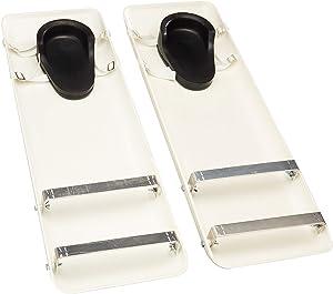 "Kraft Tool CC153 30""x10"" Polystyrene Concrete Sliders (Pair)"
