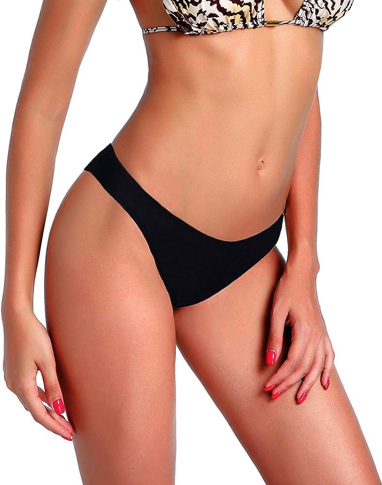 Sports & Entertainment Women Beach Mesh Sheer Swimwear Swim Briefs Female Bikini Thong Bikini Bottom Two-piece Separates Sexy Brazilian Underwear
