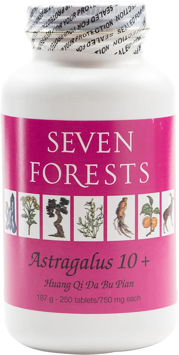 Seven Forests Astragalus 10 250 tablets