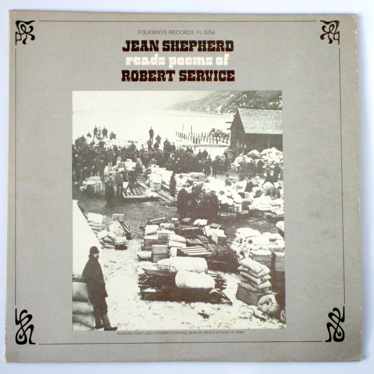 Jean Shepherd Reads the Poems of Robert Service
