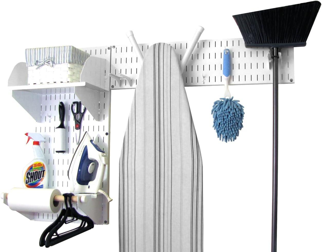 Wall Control 10-LAU-200WW Standard Laundry Room Organizer