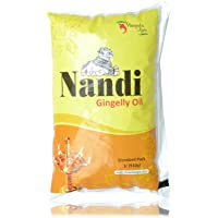 Nandi Oil - Gingelly, 1L Bottle