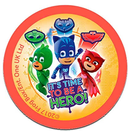 Parches - PJ MASKS Héroes en pijamas ITS TIME TO BE A HERO 2 Disney -