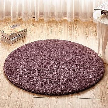 Amazon.de: DUHUI Runde Drehstuhl Korb Kinder Schlafzimmer Nacht Wohnzimmer  Schreibtisch Mat (Farbe :