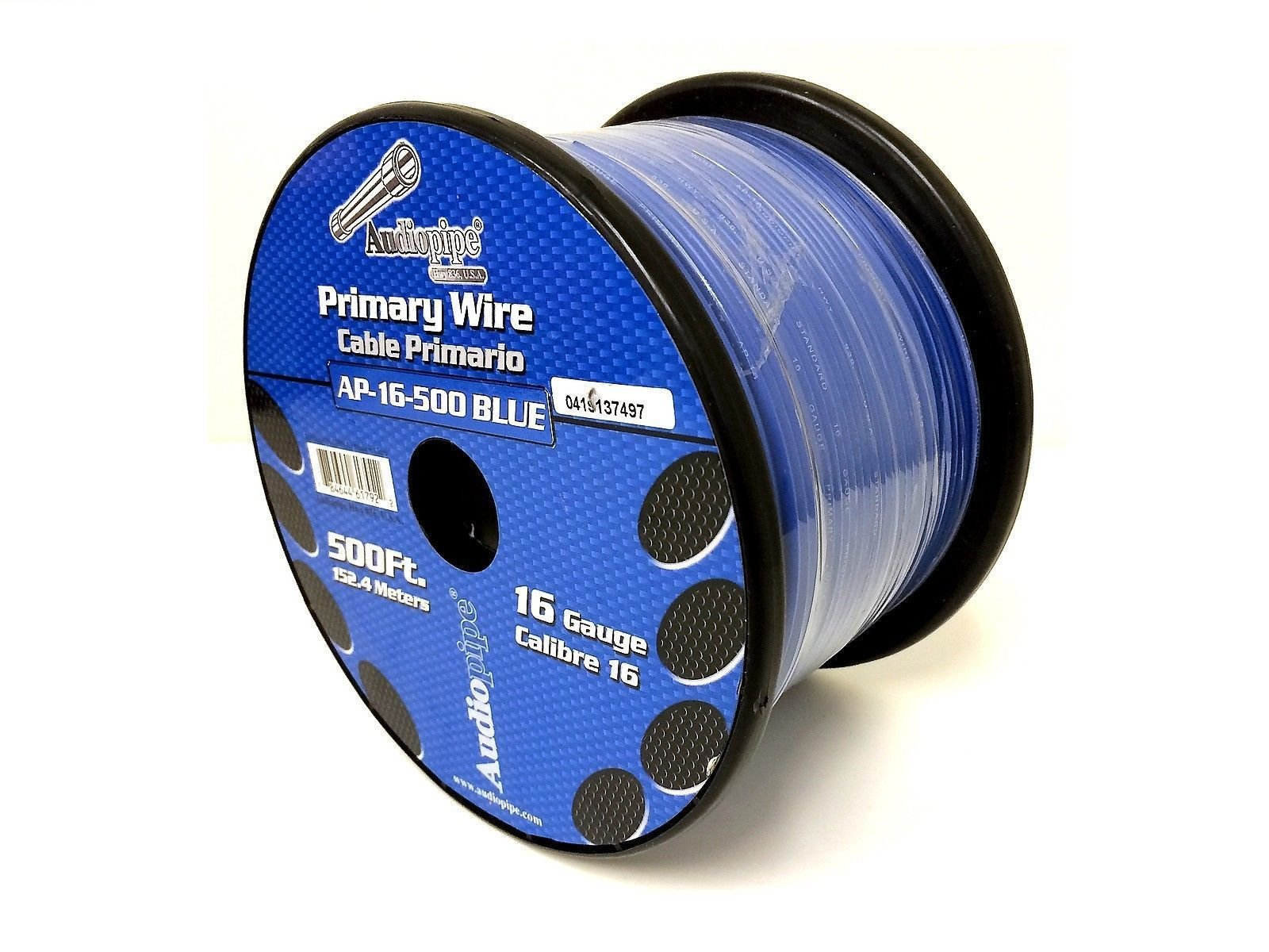 3 Rolls of 16 Gauge - 500' each Audiopipe Car Audio Home Primary Remote Wire by Audiopipe (Image #3)