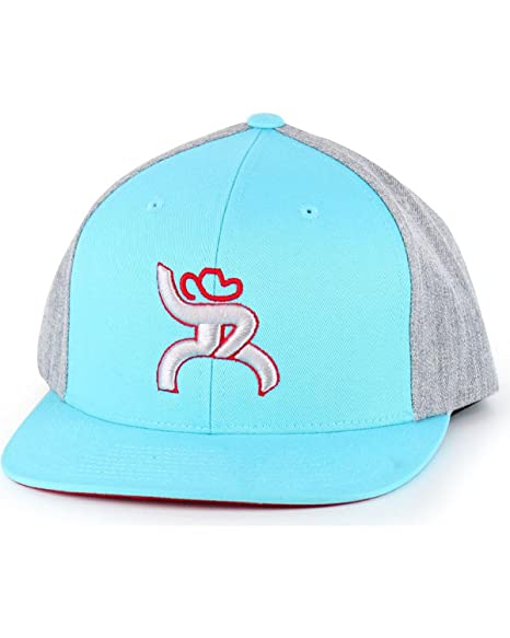 fe371518afb09 ... new arrivals hooey mens turquoise roughy hawk flatbill baseball cap  turquoise one size 2b3a6 274ea
