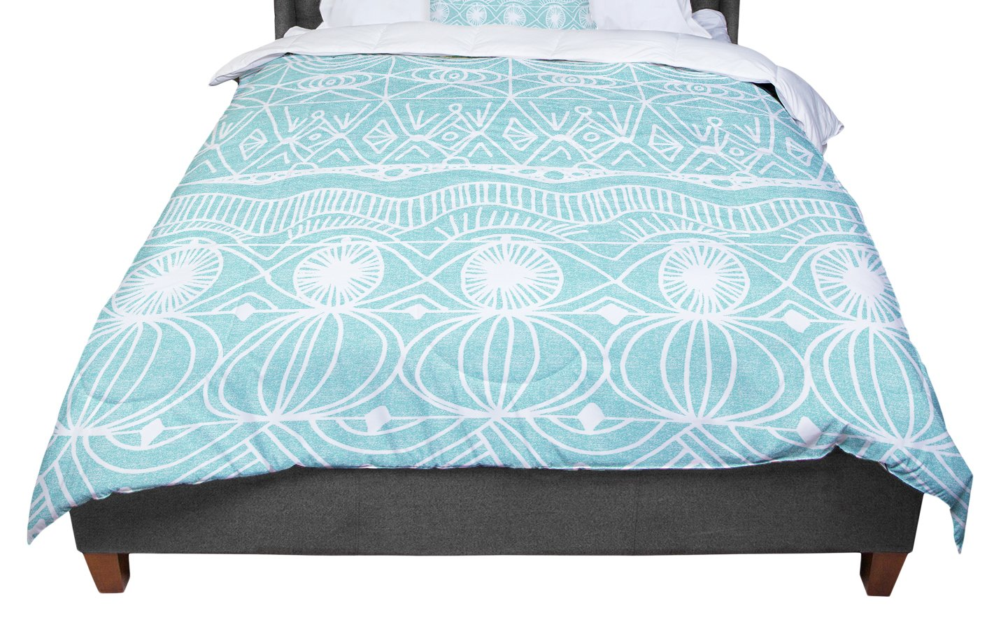 KESS InHouse Catherine Holcombe ''Beach Blanket Bingo'' Twin Comforter, 68'' X 88'' by Kess InHouse