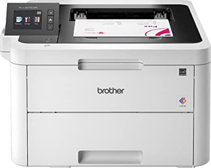 Brother HL-3170CDW - Impresora láser color (WiFi, LED, red cableada, impresión automática a doble cara)