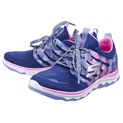 a620662586d Skechers Childrens Girls SK81560L Diamond Runner Sports Shoes/Trainers  (11.5 US Junior) (