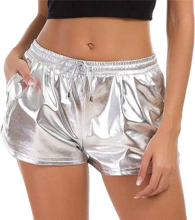 Amazon.com: Taydey - Pantalones cortos de yoga para mujer ...