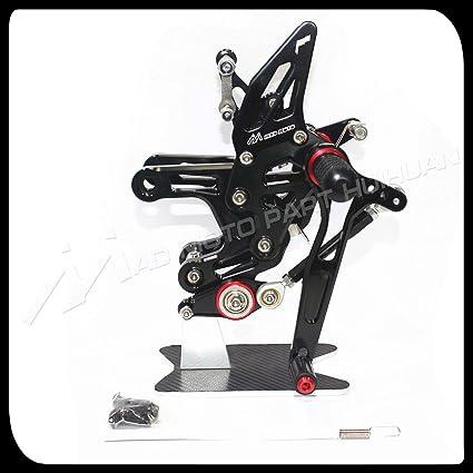 Rockmute CNC - Juego de pasador de freno trasero ajustable ...
