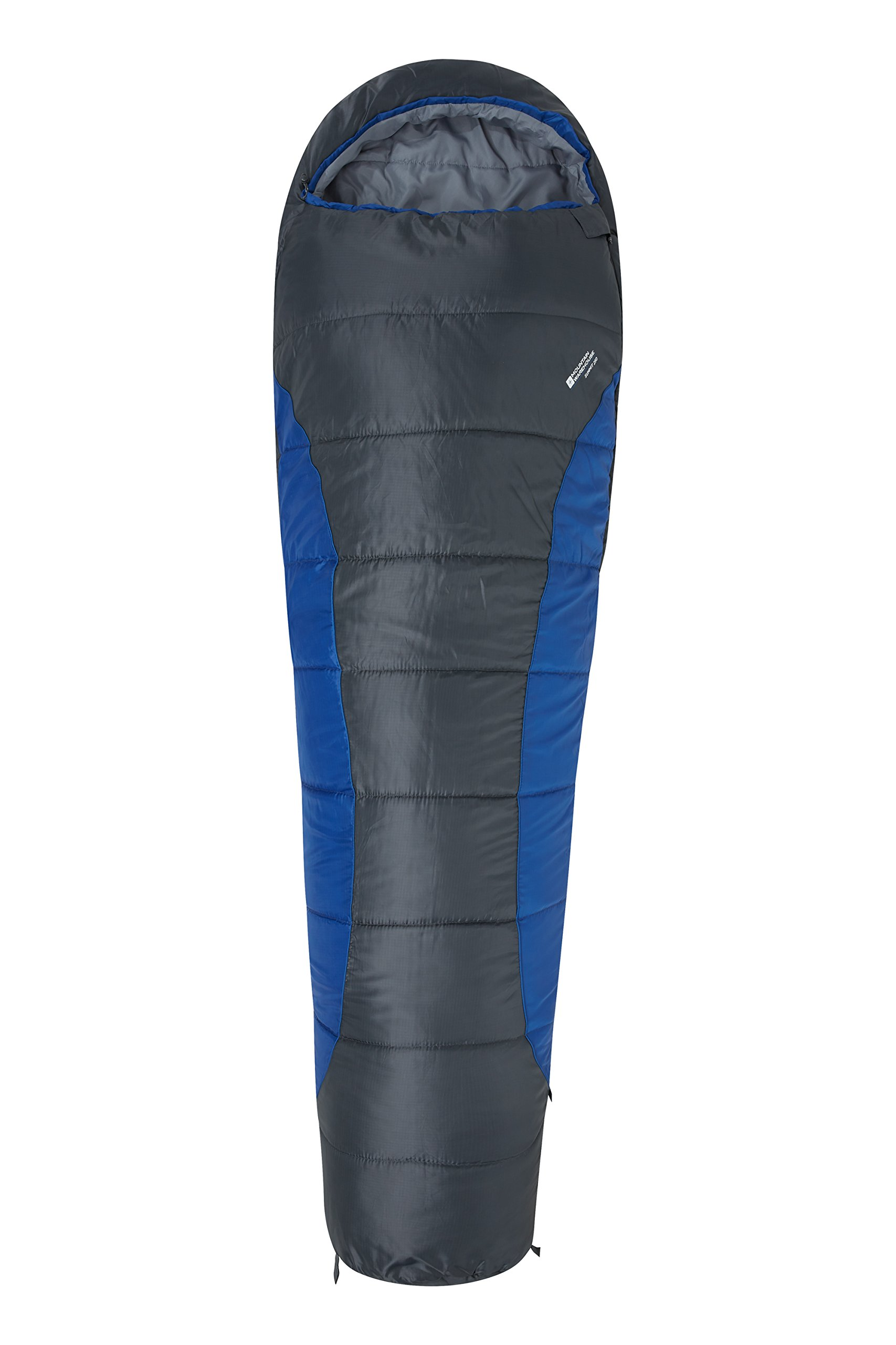 Mountain Warehouse Saco de dormir Summit 250 Azul Right Handed Zip product image