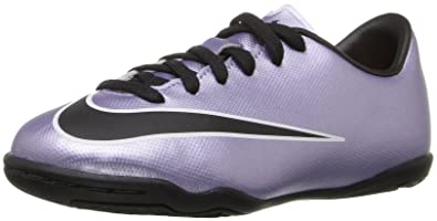 Nike Kids Jr Mercurial Victory V IC Urbn Lilac/Blk/Brght Mng/White