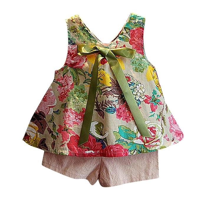 UK Toddler Kids Baby Girl Tulle Vest Tops T-Shirt Denim Shorts Outfits Sunsuit