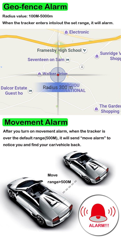 TKSTAR GPS Tracker Locator TK915 Tracker GPS Voiture Temps de veille 120 jours Traceur localisation Véhicule en Temps Réel Localisateur GPS/A-GPS/LBS ...