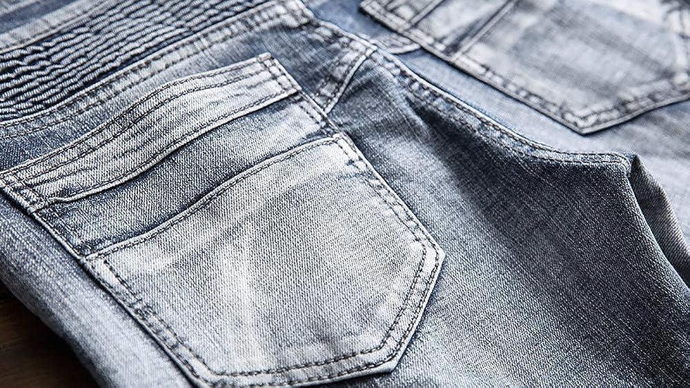 Logobeing Pantalones Vaqueros Hombre Slim Fit Jeans ...