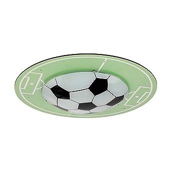 Eglo Tabara Deckenlampe Kinderlampe Mit Fussball Motiv Deko
