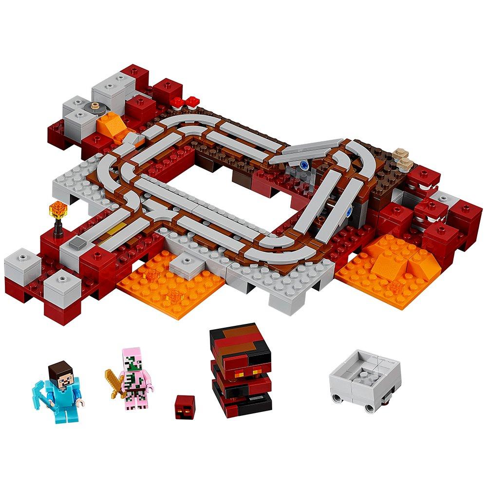 Lego Minecraft The Nether Railway 21130 21133 Witch Hut