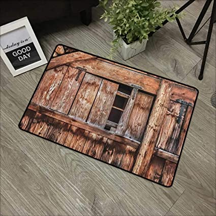Amazon com: Bathroom Door mat W35 x L47 INCH Rustic