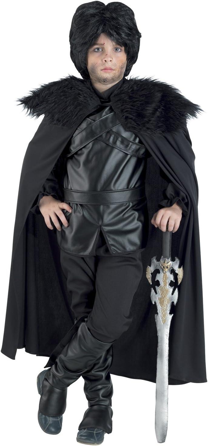 chiber Disfraces Disfraz de Guardia de la Noche para Niño (Talla 8 ...