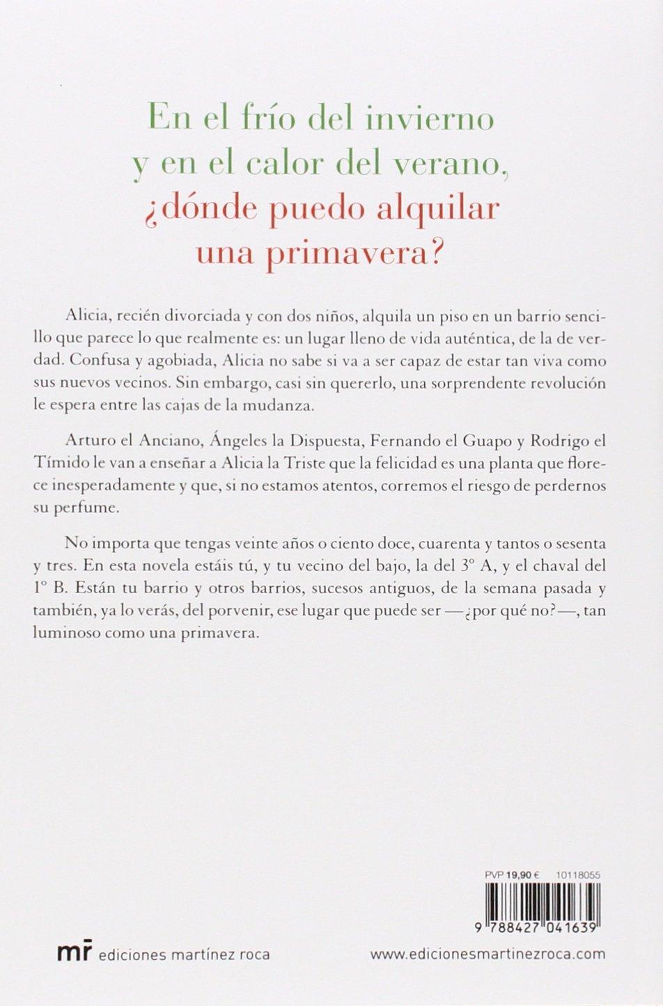 Dónde puedo alquilar una primavera: Silvia Laforet: 9788427041639: Amazon.com: Books