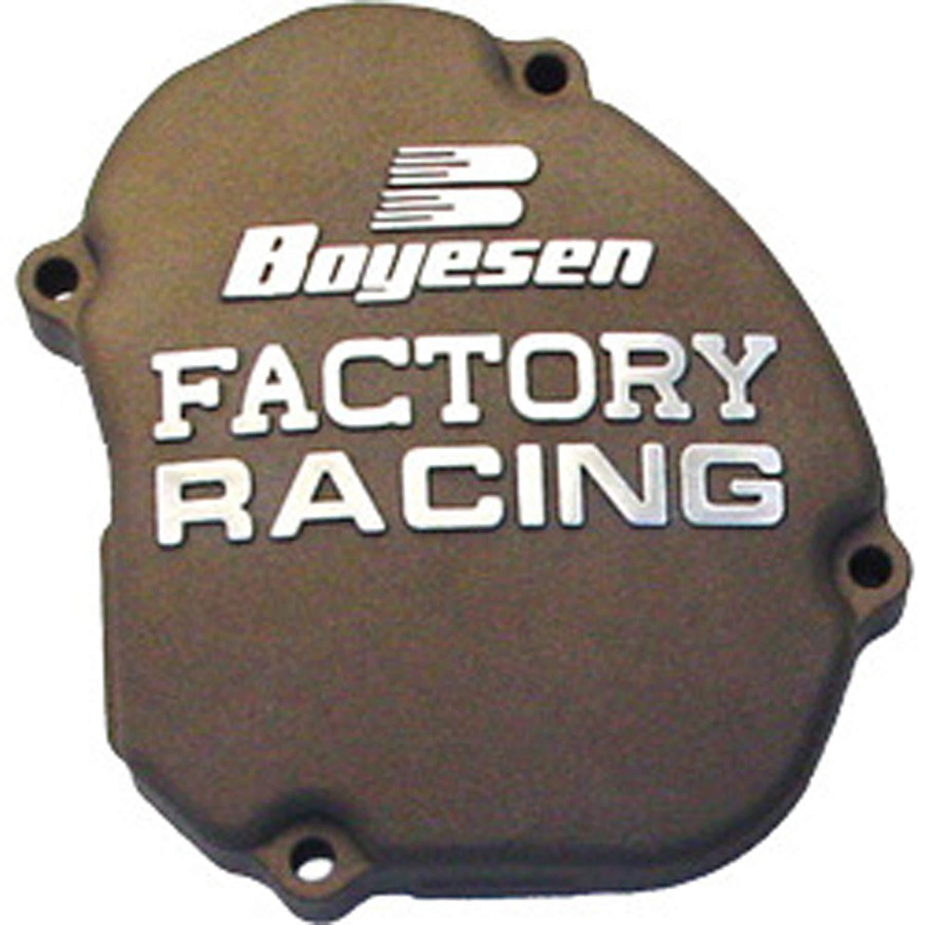 Factory Ignition Cover - Magnesium 2006 Kawasaki KX250 Offroad Motorcycle