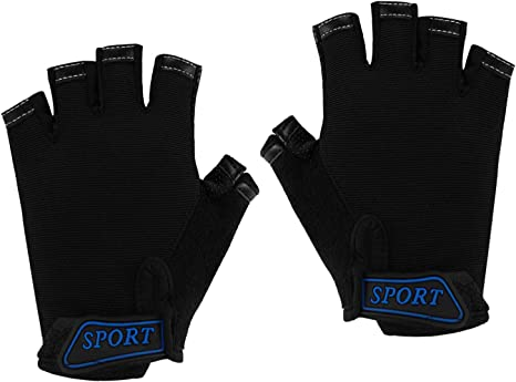 Half Finger Cycling Gloves MTB Road Mountain Bike Non-slip Bicycle Sport Mittens