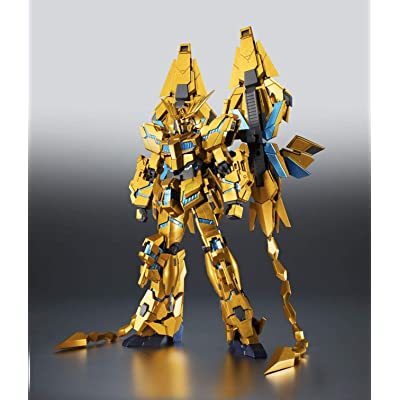 TAMASHII NATIONS Bandai Robot Spirits (SideMS) RX-0 Unicorn Gundam 03 Phenex Gundam Narrative Ver Action Figure: Toys & Games