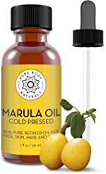 Pure Body Naturals Marula Facial Oil, 1 Fluid Ounce - Cold-pressed,