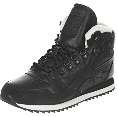 d28481d4b61439 Reebok Classic Leather Mid Winter Wonderland Womens Trainers Size UK 5   Amazon.co.uk  Shoes   Bags