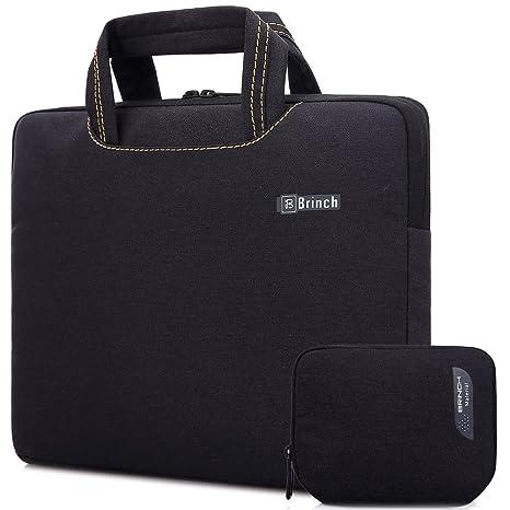 01c21b2e3238 Brinch Unisex 15-15.6 Inch Laptop Messenger Bag with Accessory Bag for  Apple, Acer, Asus, Dell, Fujitsu, Lenovo, HP, Samsung, Sony, Toshiba (Black)