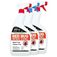 Green Dragon's Bed Bug Spray Concentrate (Pack of 3) 1.5L