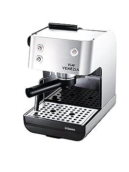 Philips Via Venezia RI9367/47 - Cafetera (Máquina espresso, 2,9 L, De café molido, 950 W, Acero inoxidable): Amazon.es: Hogar