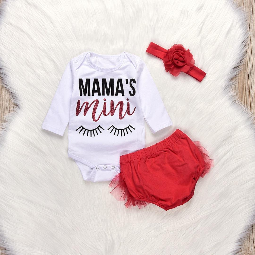 7a939b1a9e53 Amazon.com  Dreammimi Newborn Baby Girl Clothes Letter Romper ...